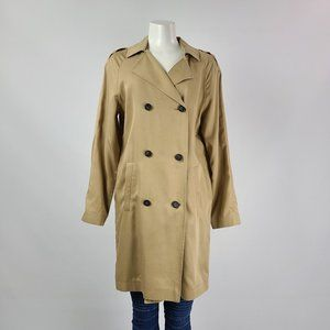 Top Shop Trench Coat Size 6